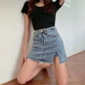 skirt Summer 2021 S M L blue Short skirt commute Natural waist 25-29 years old LK211-3379 More than 95% LK2003 other Korean version Other 100% Pure e-commerce (online only)