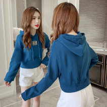 Sweater / sweater Autumn 2020 S M L XL 2XL Long sleeves have cash less than that is registered in the accounts Socket singleton  Hood commute routine Solid color 25-29 years old LK2003 Korean version Pure e-commerce (online only)