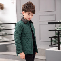 Cotton padded jacket male nothing other Snow years Red green black 110cm 120cm 130cm 140cm 150cm 160cm 170cm routine Single breasted leisure time There are models in the real shooting Cartoon animation Class C Lapel Polyester 100% Cotton liner 1565 gross Polyester 100% Autumn of 2019 Chinese Mainland