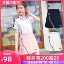 Golf apparel White pink navy has the same adult skirt, please contact customer service to send a link S M L XL children TTYGJ shorts T126 girls' skirt Summer 2020