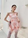 Dress Summer 2021 Pink S,M,L Miniskirt singleton  commute High waist 18-24 years old Type A Korean version 9155# other