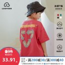 T-shirt Lovell 110cm 120cm 130cm 140cm 150cm 160cm male summer Short sleeve Crew neck Korean version There are models in the real shooting nothing cotton other Other 100% Class B Sweat absorption Summer 2021 Chinese Mainland Sewing Zhejiang Province Huzhou City