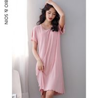 Nightdress Other / other A822768 light pink, a822769 light blue, a822770 rose red, a822771 elegant black M: Suitable for 150-160cm, 80-100kg, l: suitable for 160-165cm, 100-120kg, XL: suitable for 165-170cm, 120-140kg, 2XL: suitable for 165-175cm, 140-160kg, 3XL: suitable for 160-180cm, 160-180kg