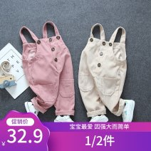 trousers Other / other neutral 80cm,90cm,100cm,110cm spring and autumn trousers leisure time No model rompers Leather belt middle-waisted cotton Open crotch Cotton 95% other 5% Class A 12 months, 9 months, 18 months, 2 years, 3 years Chinese Mainland Hebei Province Xingtai