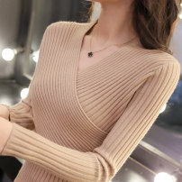 Wool knitwear Spring of 2018 S M L XL Long sleeves singleton  Socket other More than 95% Regular routine commute Self cultivation V-neck routine Solid color Socket Korean version 18-24 years old Roca Lauca / Roca Lauca thread Other 100% Pure e-commerce (online only)