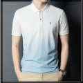 T-shirt Fashion City thin 48,50,52,54,56 Lilanz / LiLang Short sleeve Lapel standard daily summer youth routine Business Casual Cotton wool 2021 Gradients Embroidery cotton other No iron treatment Domestic famous brands 70% (inclusive) - 79% (inclusive)