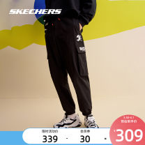 trousers male L320M268 SKECHERS / SKECHERS S 165/70A M 170/74A L 175/78A XL 180/82A XXL 185/86A XXXL 190/90A Carbon black / 0018 Winter 2020 Frenulum Sports & Leisure routine Brand logo ventilation Woven middle-waisted yes Same model in shopping mall (sold online and offline)