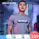 Sports T-shirt SKECHERS / SKECHERS Short sleeve male Crew neck routine ventilation Summer of 2019 Sports & Leisure cotton yes