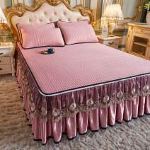 Mat / bamboo mat / rattan mat / straw mat / cowhide mat Mat Kit Others Love life 1.5m (5 feet) bed 1.8m (6 feet) bed 1.8 * 2.2m bed 2.0m (6.6 feet) bed Bean paste pink gray Beituo Matcha green water green sky blue haze blue Folding Qualified products ckwhguan520