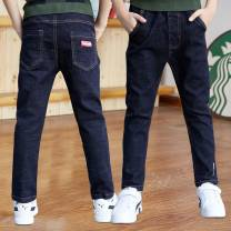 trousers Panda planet male 110cm 120cm 130cm 140cm 150cm 160cm 170cm spring and autumn trousers leisure time There are models in the real shooting Jeans Leather belt middle-waisted Denim Don't open the crotch Cotton 95% polyurethane elastic fiber (spandex) 5% XM5K86 Class B Autumn 2020 Huzhou City
