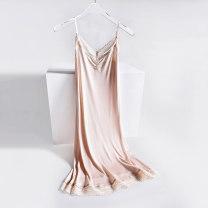Vest sling Summer 2020 Black, white, skin color M,L,XL singleton  Medium length Self cultivation Versatile camisole Solid color 30% and below other Eissicala / escala Lace