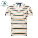 T-shirt Fashion City P7 army green stripe J8 blue stripe F5 red stripe routine National fit 46 / S / 160 48 / M / 165 50 / L / 170 52 / XL / 175 54 / XXL / 180 56 / XXXL / 185 SANTA BARBARA POLO & racket club / St. Paul Short sleeve Lapel standard Other leisure summer PS14KT207 Cotton 100% youth