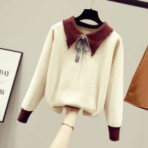 Wool knitwear Spring 2020 Long sleeves singleton  Socket other 51% (inclusive) - 70% (inclusive) Regular easy Other / other bow