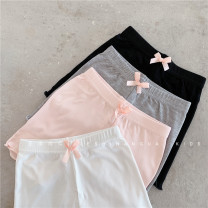 underpants cotton Other / other White, black, gray, pink 100cm,110cm,120cm,130cm,140cm Other 100% Four seasons female 2, 3, 5, 6, 7, 8, 9, 10