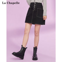 skirt Autumn 2020 S M L Black (in stock) white (in stock) Short skirt Versatile Natural waist A-line skirt Solid color Type A 30-34 years old 1F0D4060 More than 95% other La Chapelle / La chapelle polyester fiber Polyester 100% Pure e-commerce (online only)