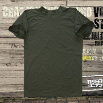 T-shirt Fashion City Army green thin M / 170 standard or 165 high but not thin Others Short sleeve Crew neck standard daily summer Basic public Solid color