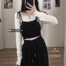 Fashion suit Spring 2021 Average size Black strap, lace top 18-25 years old 30% and below
