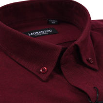 shirt Business gentleman Old man 38 39 40 41 42 43 44 45 routine square neck Long sleeves standard daily winter middle age Cotton 100% Business Casual Solid color oxford Winter 2016