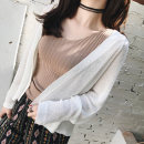 Wool knitwear Average code Summer 2017 Natural white elegant apricot elegant Camel Long sleeve Cardigan Conventional models Single Thin section Commuting Loose conventional Pure color other other 31% (inclusive) -50% (inclusive) Korean version 18-24 years old