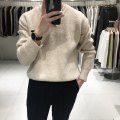 T-shirt / sweater Others Fashion City S,M,L,XL,2XL thickening Socket Crew neck Long sleeves winter Straight cylinder 2019 Basic public routine Solid color