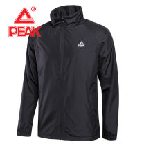 Sports jacket / jacket Peak / peak male Summer 2021 stand collar zipper Brand logo Sports & Leisure Warm, wear-resistant, breathable and windproof Men's training yes