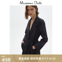 suit Spring 2021 black XS S M L 96% and above cotton Massimo Dutti Cotton 96% polyurethane elastic fiber (spandex) 4% Same model in shopping mall (sold online and offline)