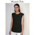T-shirt black 165/84A 170/88A 170/92A 175/96A 175/100A Summer 2020 Sleeveless Self cultivation Regular routine cotton 96% and above Massimo Dutti 06844564800-28 Cotton 100% Same model in shopping mall (sold online and offline)