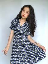Dress Autumn 2020 S,M,L 71% (inclusive) - 80% (inclusive) Chiffon