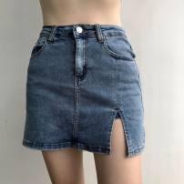 skirt Autumn 2020 XS,S,M,L Gray, black, blue 71% (inclusive) - 80% (inclusive) other