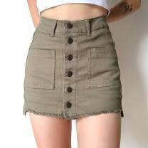 skirt Autumn 2020 S,M,L White, black, emerald green 71% (inclusive) - 80% (inclusive) other