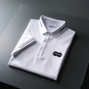 Polo shirt Opuqi / opuqi Youth fashion thin White black 4XL M L XL 2XL 3XL standard Other leisure summer Short sleeve OPQ-AH80522 tide routine youth Cotton 68.8% polyester 28.2% polyurethane elastic fiber (spandex) 3% Color block cotton No iron treatment jacquard weave Summer 2021
