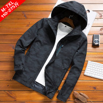 Jacket Zumu / zumo Business gentleman 8178a black 8178a black plush 8178 black 8178 black plush 8178 dark blue 8178 Blue Plush 170/M 175/L 180/XL 185/XXL 190/3XL 195/4XL 200/5XL 205/6XL 210/7XL routine easy Other leisure autumn T-8178A Long sleeves Wear out Hood Business Casual middle age routine
