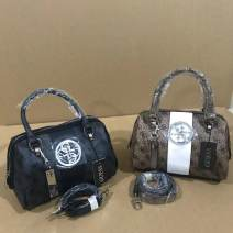 Bag Pocket PU other Other / other Black, brown brand new European and American fashion in leisure time soft no Solid color Single root nothing youth Horizontal square Handling handle inside pocket with a zipper Artificial leather