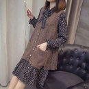 Wool knitwear Spring of 2019 M L XL Brown rice apricot dark grey light grey Long sleeves Two piece set Socket other More than 95% Medium length routine commute easy Scarf Collar pagoda sleeve Socket Korean version ASL19A002 Ashalu Other 100% Pure e-commerce (online only)