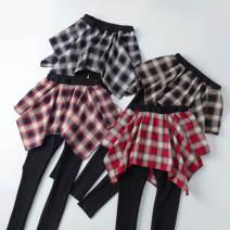 Leggings Autumn 2020 S,M,L,XL,2XL routine trousers Other / other pure cotton 91% (inclusive) - 95% (inclusive)