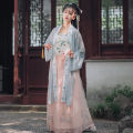 Hanfu 91% (inclusive) - 95% (inclusive) Summer of 2019 S,M,L polyester fiber