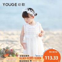 Dress female Young song 66cm 73cm 80cm 90cm 100cm 110cm 120cm Cotton 100% summer princess cotton A-line skirt Class A Summer 2021 3 months 12 months 6 months 9 months 18 months 2 years 3 years 4 years 5 years 6 years Chinese Mainland Zhejiang Province Huzhou City