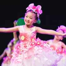 Children's performance clothes Hello, Hua'er - women, Hua'er - men, cross dressing, kettle female 110cm,120cm,130cm,140cm,150cm,160cm,170cm Luze dance rhyme nation polyester fiber 7, 8, 14, 3, 6, 13, 11, 5, 4, 10, 9, 12 princess