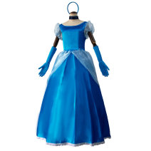 Cosplay women's wear Other women's wear goods in stock Over 6 years old Cinderella sandy princess skirt game S,M,L,XL,XXL Star diffuse field