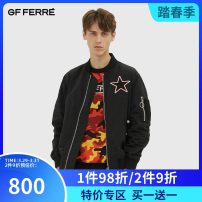 Jacket GF Ferre '/ Geoffrey Youth fashion Black green XXL S M L XL easy Other leisure GAM03J1090 Polyester 100% Autumn of 2018 Same model in shopping mall (sold online and offline)