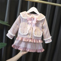 Dress Pink female Yyxxbaby 80cm 90cm 100cm 110cm 120cm Other 100% spring and autumn Korean version Long sleeves lattice cotton YYXX0905592 Class A Winter 2020 12 months, 6 months, 9 months, 18 months, 2 years, 3 years, 4 years, 5 years, 6 years Chinese Mainland Zhejiang Province Huzhou City