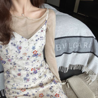 Dress Spring 2021 Broken flowers S M L Short skirt 18-24 years old Mrs. Qian HH20030010 More than 95% other Other 100%