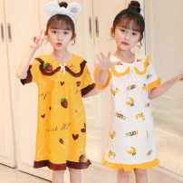 Home skirt / Nightgown Other / other 8, 10, 12, 14, 16, 18, 20, 22, 24 Cotton 100% summer female Home LX-H