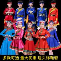 Children's performance clothes female 110cm 120cm 130cm 140cm 150cm 160cm custom 170cm Dodder spirit TTJL008 nation 4 years old, 5 years old, 6 years old, 7 years old, 8 years old, 9 years old, 10 years old, 11 years old, 12 years old, 13 years old, 14 years old Summer of 2019