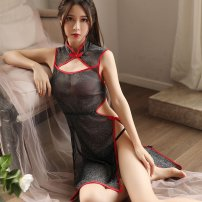 Dress Summer 2020 black Suitable for 80-125 Jin body 18-24 years old Other / other