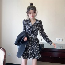 Scarf / silk scarf / Shawl other Polka dress s Polka dress m Polka dress l Polka Dress XL suit + Polka dress s suit + Polka dress m suit + Polka dress l suit + Polka Dress XL spring and autumn female Pai Mengya M4138 Spring 2021