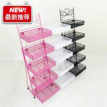 Cosmetics shelf Metal Guangdong Province fold Five layer heart frame black, five layer heart frame white, five layer heart frame rose red, four layer heart frame black, four layer heart frame white, five layer cat frame black, five layer cat frame white iron