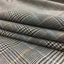 Fabric / fabric / handmade DIY fabric blending Gray grid picture color Other / other