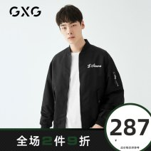 Jacket GXG Youth fashion black 165/S 170/M 175/L 180/XL 185/XXL 190/XXXL routine standard Other leisure spring GY121506A Polyamide fiber (nylon) 100% Long sleeves Wear out Baseball collar Youthful vigor youth routine Zipper placket Rib hem Closing sleeve other Spring 2020 nylon More than 95%