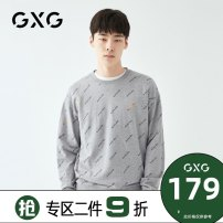 Sweater Youth fashion GXG grey 165/S 170/M 175/L 180/XL 185/XXL 190/XXXL other Socket routine Crew neck Straight cylinder youth tide routine Cotton 100% cotton washing Spring 2020 More than 95% Pure e-commerce (online only) Japanese and Korean style